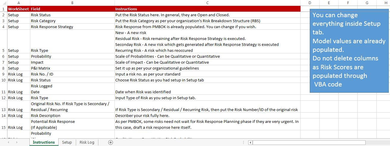risk register e for excel awakening microsoft excel student