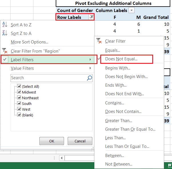 Article 46 Creating Pivot Table With Dynamic Range E For